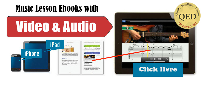 Music Ebooks with Video and Audio
