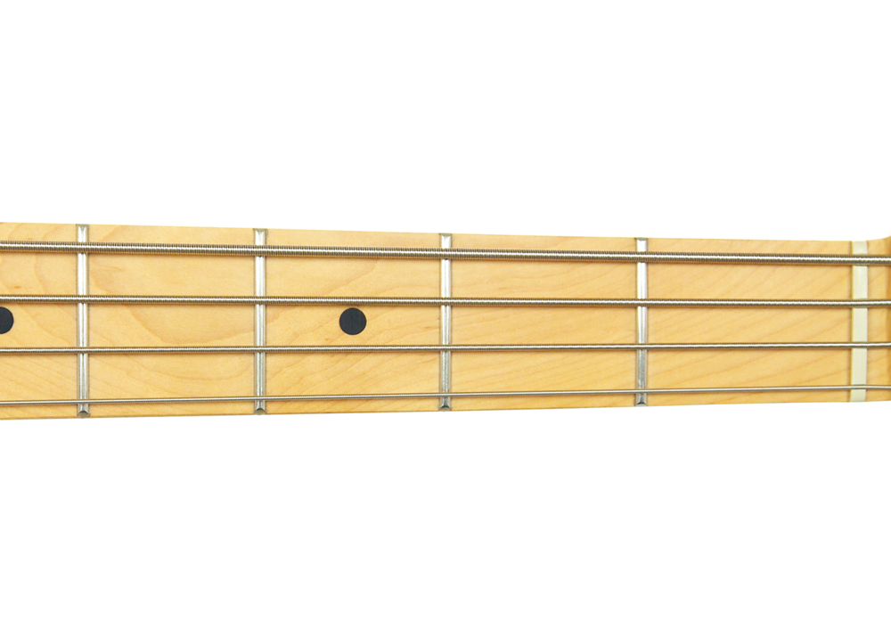 Bass Guitar Fretboard Open Strings