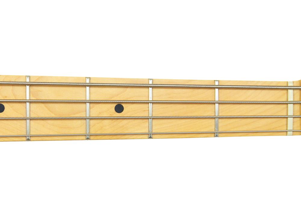 Bass Guitar Fretboard Open Strings