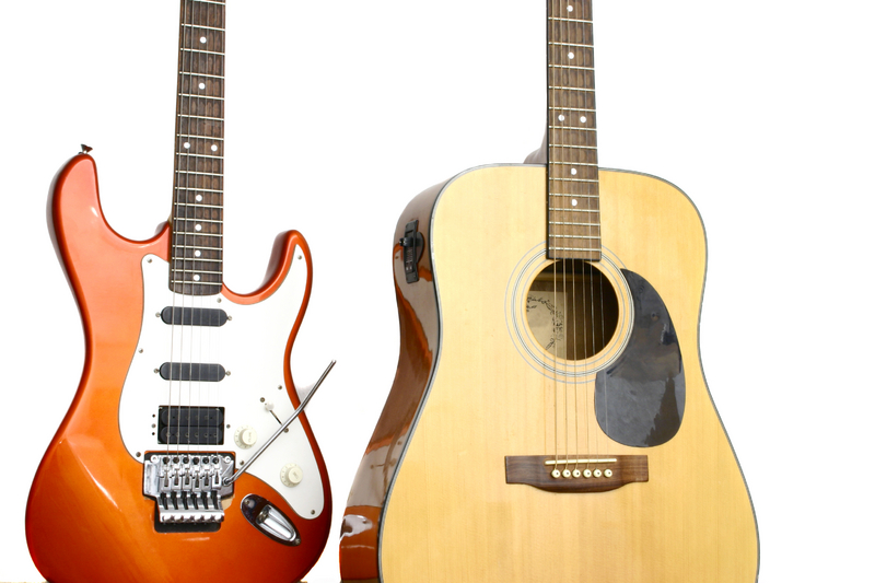 which guitar for beginners is best acoustic or electric guitar. Black Bedroom Furniture Sets. Home Design Ideas