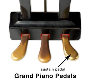 Grand Piano Sustain Pedal