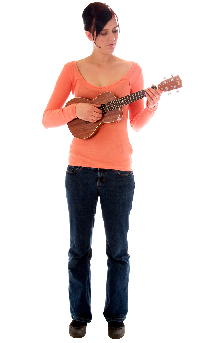 How to Hold a Ukulele Standing