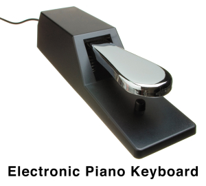 Electronic Keyboard Sustain Pedal