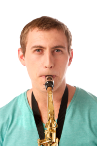 Saxophone Notes - Embouchure Frton View