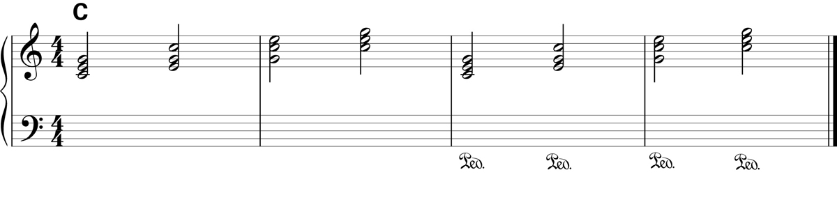 Sustain Pedal Exercise 1