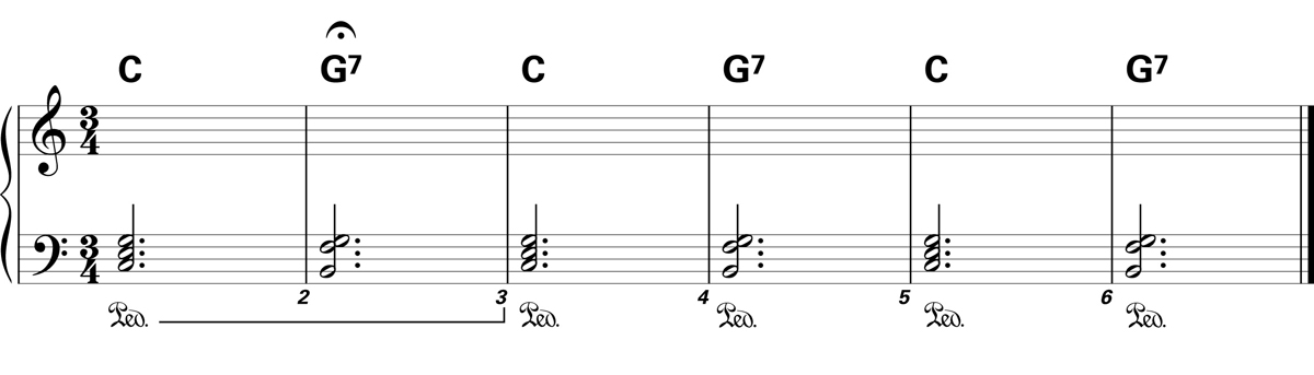 Sustain Pedal Exercise 2