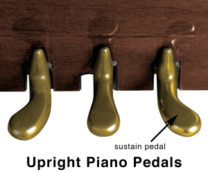 Upright Piano Sustain Pedal