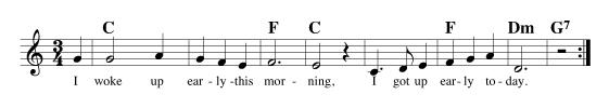Vocal Improvisation Exercise 1