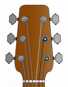 Change Acoustic Guitar Strings Step 5