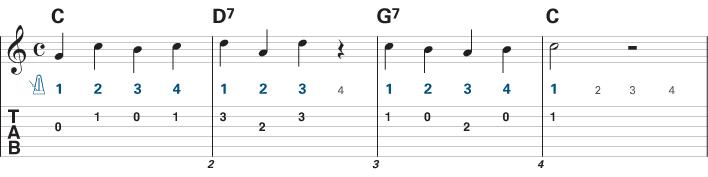 Guitar Songs for Beginners - Aura Lee 1