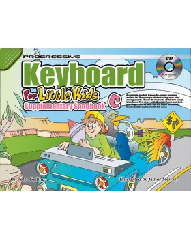 Progressive Keyboard for Little Kids - Supplementary Songbook C - How to Play Keyboard for Kids