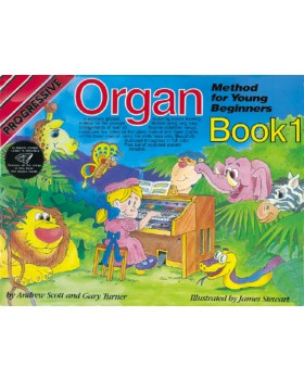 Progressive Organ Method for Young Beginners - How to Play Organ for Kids