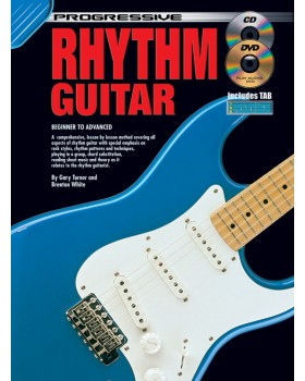 Progressive Rhythm Guitar - Teach Yourself How to Play Guitar