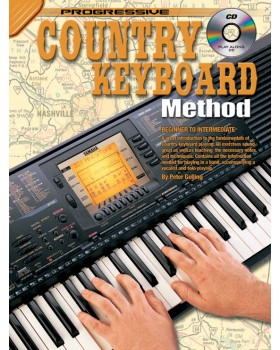 Progressive Country Keyboard Method - Teach Yourself How to Play Keyboard