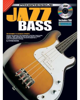 Progressive Jazz Bass - Teach Yourself How to Play Bass Guitar