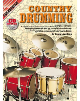 Progressive Country Drumming - Teach Yourself How to Play Drums