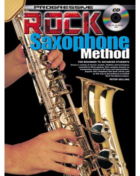 Progressive Rock Saxophone Method - Teach Yourself How to Play Saxophone