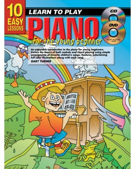 10 Easy Lessons - Learn To Play Piano for Young Beginners - How to Play Piano for Kids