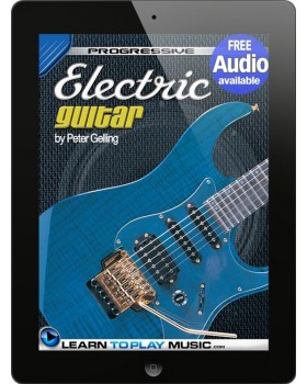 Electric Guitar Lessons for Beginners - Teach Yourself How to Play Guitar (Free Audio Available)