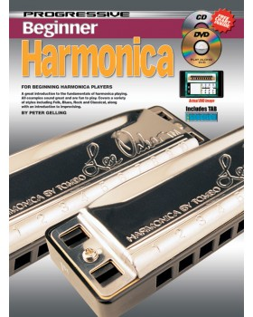 Progressive Beginner Harmonica - Teach Yourself How to Play Harmonica