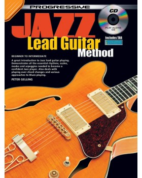 Progressive Jazz Lead Guitar Method - Teach Yourself How to Play Guitar