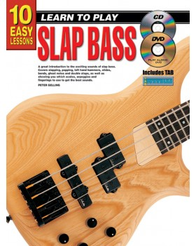 10 Easy Lessons - Learn To Play Slap Bass - Teach Yourself How to Play Bass Guitar