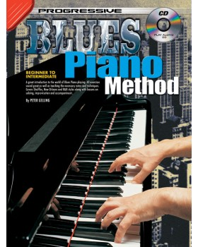 Progressive Blues Piano Method - Teach Yourself How to Play Piano