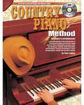 Progressive Country Piano Method - Teach Yourself How to Play Piano
