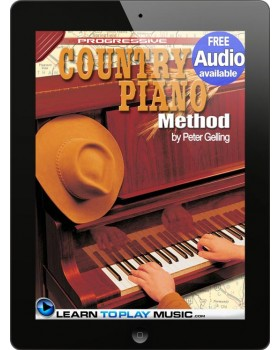 Country Piano Lessons - Teach Yourself How to Play Piano (Free Audio Available)