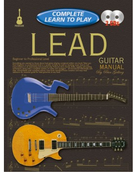 Progressive Complete Learn To Play Lead Guitar Manual - Teach Yourself How to Play Guitar