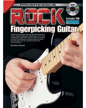 Progressive Rock Fingerpicking Guitar - Teach Yourself How to Play Guitar
