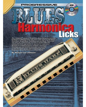 Progressive Blues Harmonica Licks - Teach Yourself How to Play Harmonica
