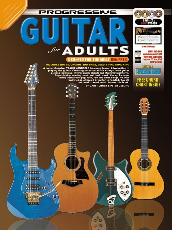Progressive Guitar for Adults