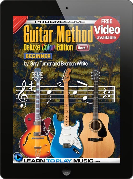 how to play guitar guitar lessons for beginners book 1. Black Bedroom Furniture Sets. Home Design Ideas