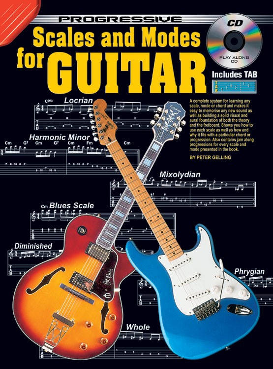 Progressive Scales and Modes for Guitar