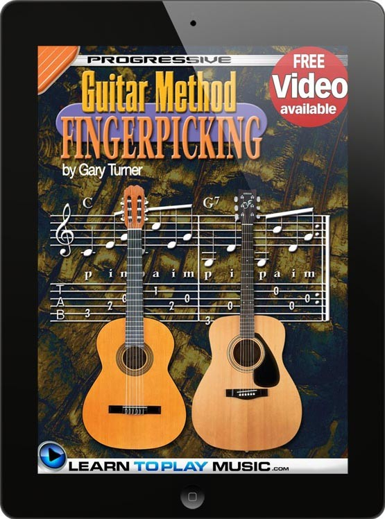 how to play guitar fingerstyle guitar lessons for beginners. Black Bedroom Furniture Sets. Home Design Ideas