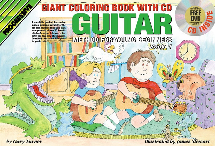 Progressive Guitar Method for Young Beginners - Book 1 (Giant ...
