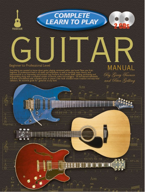 progressive complete learn to play guitar manual. Black Bedroom Furniture Sets. Home Design Ideas