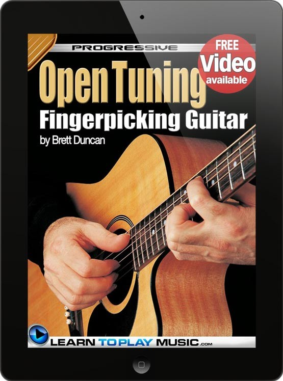 how to play guitar open tuning fingerstyle guitar lessons. Black Bedroom Furniture Sets. Home Design Ideas