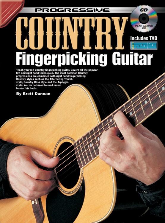 Progressive Beginner Fingerpicking Guitar Cd Excellent Quality Guitar Musical Instruments & Gear