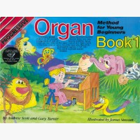 Progressive Organ Method for Young Beginners