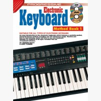 Progressive Electronic Keyboard Method - Book 1