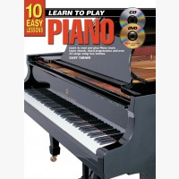 10 Easy Lessons - Learn To Play Piano