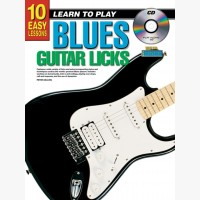 10 Easy Lessons - Learn To Play Blues Guitar Licks