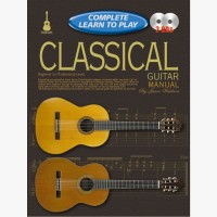 Progressive Complete Learn To Play Classical Guitar Manual