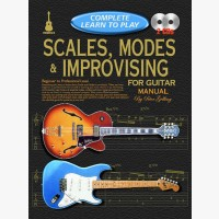 Progressive Complete Learn To Play Scales, Modes & Improvising for Guitar Manual