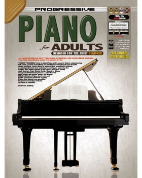 Progressive Piano for Adults - Teach Yourself How to Play Piano