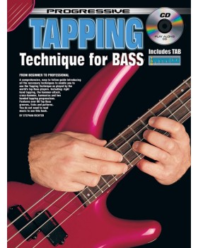 Progressive Tapping Technique for Bass - Teach Yourself How to Play Bass Guitar