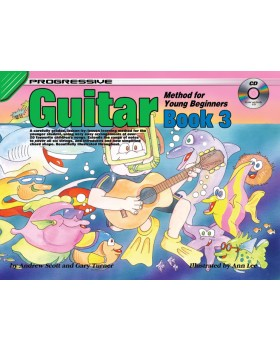 Progressive Guitar Method for Young Beginners - Book 3 - How to Play Guitar for Kids
