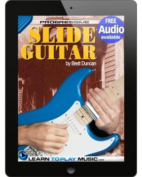Slide Guitar Lessons for Beginners - Teach Yourself How to Play Guitar (Free Audio Available)